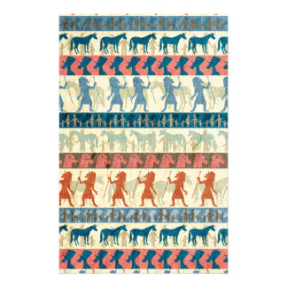 Egyptian Unicorn Pattern Customized Stationery