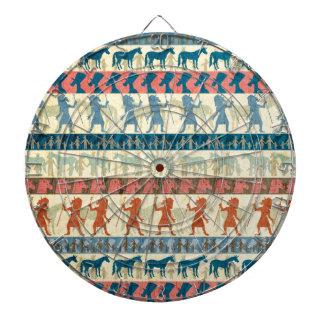 Egyptian Unicorn Pattern Dartboard