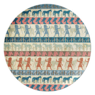 Egyptian Unicorn Pattern Plate