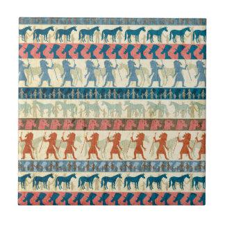 Egyptian Unicorn Pattern Tile