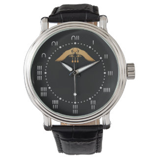 Egyptian Winged Disc Watch