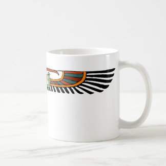 Egyptian Winged Disk Coffee Mugs