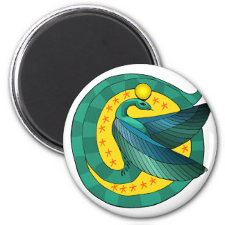 Egyptian Winged Serpent Magnet