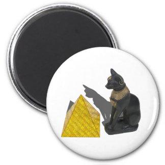 EgyptianCatSunPyramid021411 Magnet