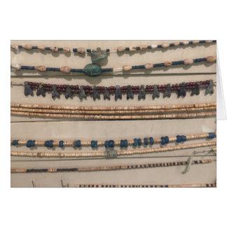 Egyptology Necklaces Card