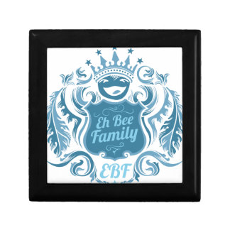 Eh Bee Family Crest Small Square Gift Box