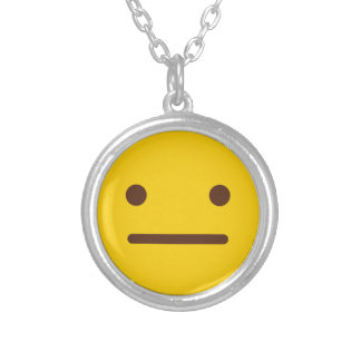 Eh Emoji Silver Plated Necklace