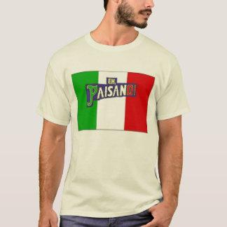 Eh Paisano w/Italian Flag T-Shirt