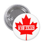 Eh Team Canada Maple Leaf Buttons