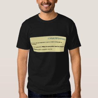 eHarmony Parody Shirts