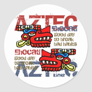 Ehecatl - Aztec Gifts & Greetings Stickers
