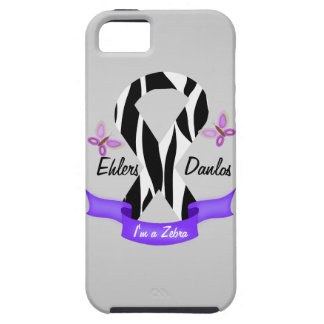 Ehlers-Danlos EDS I'm a Zebra Awareness Ribbon iPhone 5 Cases