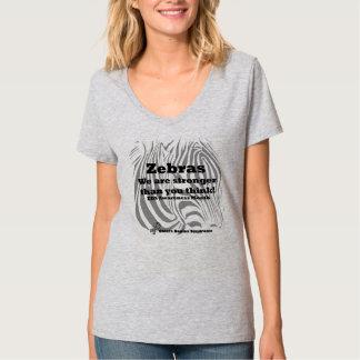 Ehlers Danlos Syndrome Awareness Zebra T-Shirt