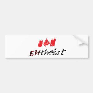 EHTheist (Atheist) Bumper Sticker