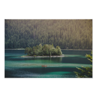 Eibsee Iceland Poster