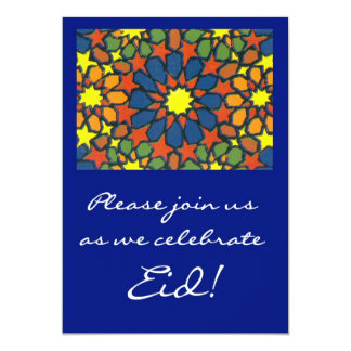 Eid Celebration Invitation - Traditional Design