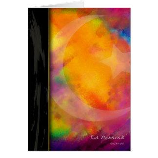 Eid Colours Card