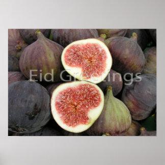 Eid greeting print
