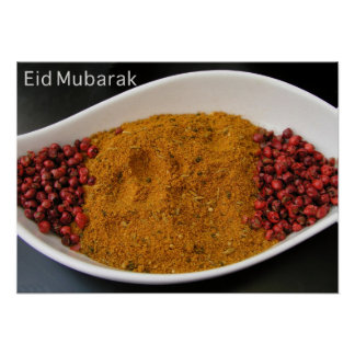 Eid Mubarak greeting Poster