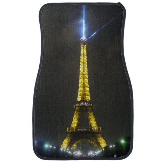 eiffel night car mat