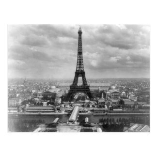 Eiffel tour postcard