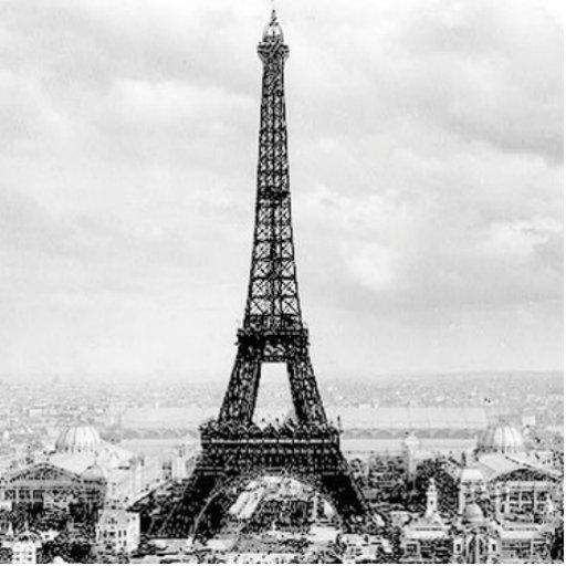 Eiffel Tower, 1889 Photo Cutouts