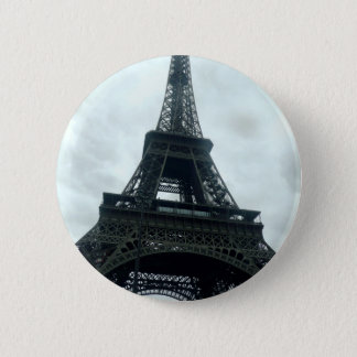 Eiffel Tower 6 Cm Round Badge