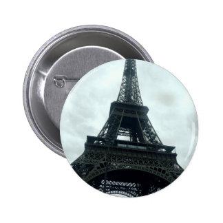 Eiffel Tower 6 Cm Round Badge