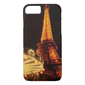 Eiffel Tower after dark iPhone 8/7 Case