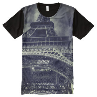 Eiffel Tower All-Over Print T-Shirt