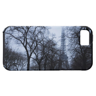 Eiffel tower and trees, Paris, France iPhone 5 Cases