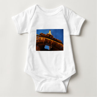 Eiffel Tower at Night Baby Bodysuit