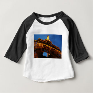 Eiffel Tower at Night Baby T-Shirt