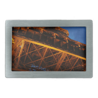 Eiffel Tower at Night Belt Buckles