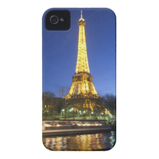 Eiffel Tower at Night Case-Mate iPhone 4 Cases