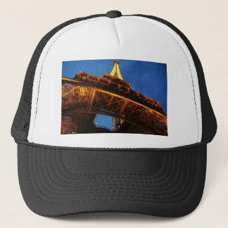 Eiffel Tower at Night Trucker Hat
