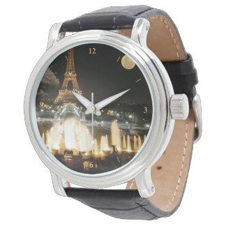 Eiffel Tower at Night Watch