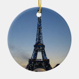 Eiffel Tower at Sundown ornament