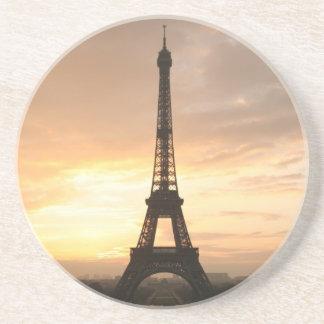 Eiffel Tower at sunrise. Coaster