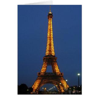 Eiffel Tower Beauty Card