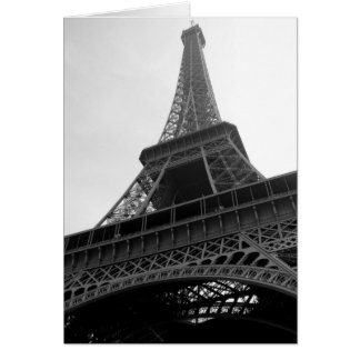 Eiffel Tower  - blank notecards Note Card