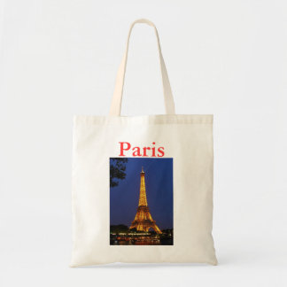 Eiffel Tower Budget Tote Bag