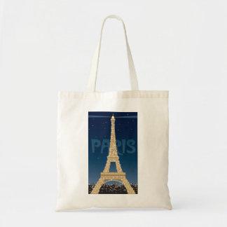 Eiffel Tower budget tote Budget Tote Bag