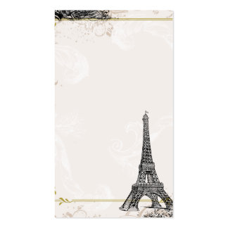 Eiffel Tower Business Card