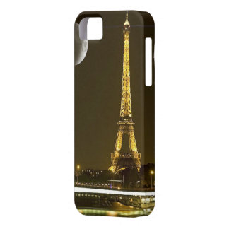 Eiffel Tower by Night - iPhone 5/5S, Vibe Barely There iPhone 5 Case