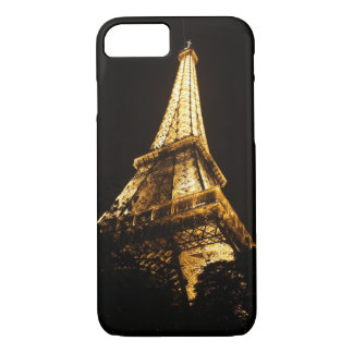 Eiffel Tower by night iPhone 7 Case
