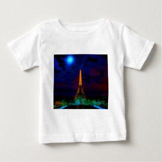 Eiffel_Tower_by_nightwaterlarge22 Baby T-Shirt