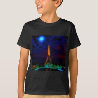 Eiffel_Tower_by_nightwaterlarge22 T-Shirt