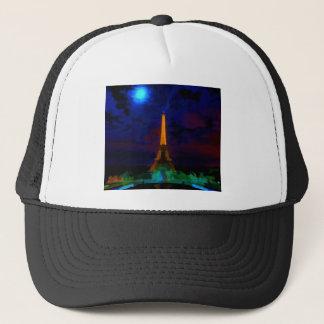 Eiffel_Tower_by_nightwaterlarge22 Trucker Hat