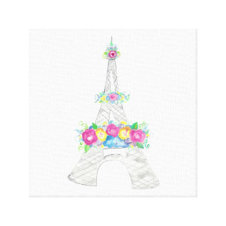 Eiffel Tower Canvas Canvas Print